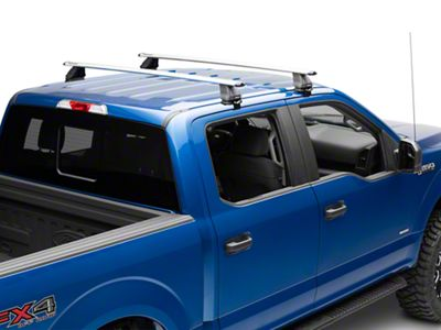 Rhino-Rack Vortex 2500 1-Bar Roof Rack - Silver (15-19 F-150 SuperCrew)
