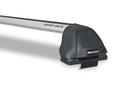 Rhino-Rack Vortex 2500 RS 2-Bar Roof Rack - Silver (04-14 F-150 SuperCab)