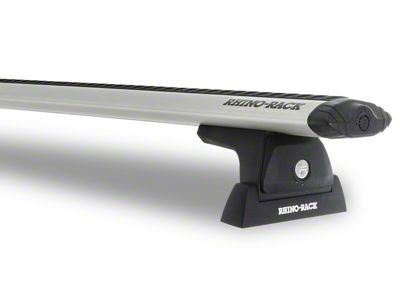 Rhino-Rack Vortex RLT600 Ditch Mount 2-Bar Roof Rack - Silver (04-08 F-150 SuperCab)