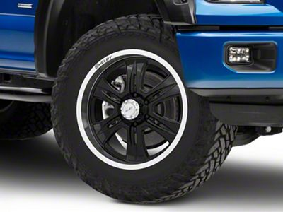 Shelby CS46 Black 6-Lug Wheel - 20x9 (04-18 F-150)