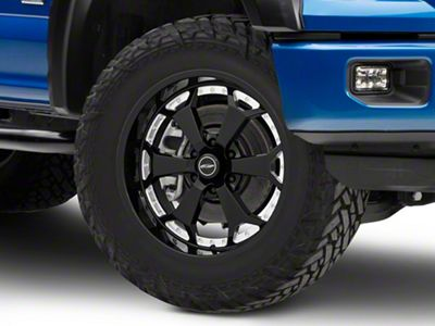 Pro Comp Adrenaline Gloss Black Milled 6-Lug Wheel - 20x9 (04-18 F-150)
