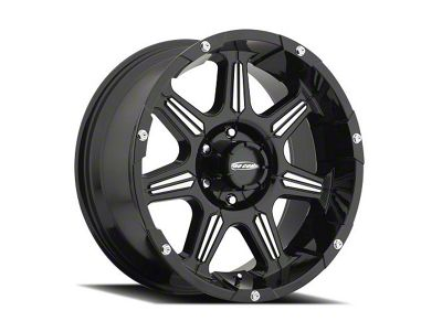 Pro Comp District Gloss Black Machined 6-Lug Wheel - 20x9 (04-18 F-150)