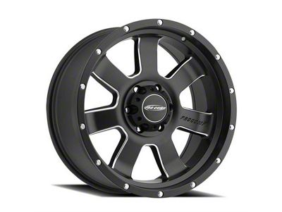 Pro Comp Inertia Satin Black Milled 6-Lug Wheel - 20x9 (04-18 F-150)