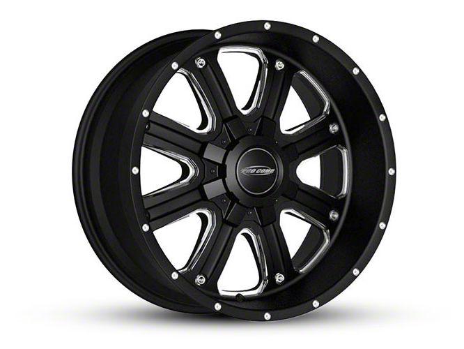 Pro Comp Phantom Satin Black Milled 6-Lug Wheel - 17x9 (04-18 F-150)