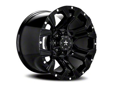RBP 64R Widow Gloss Black w/ Machined Grooves 6-Lug Wheel - 20x12 (04-18 F-150)