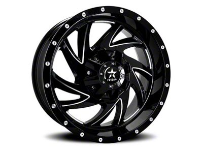 RBP 66R HK-5 Gloss Black 6-Lug Wheel - 20x12 (04-18 F-150)