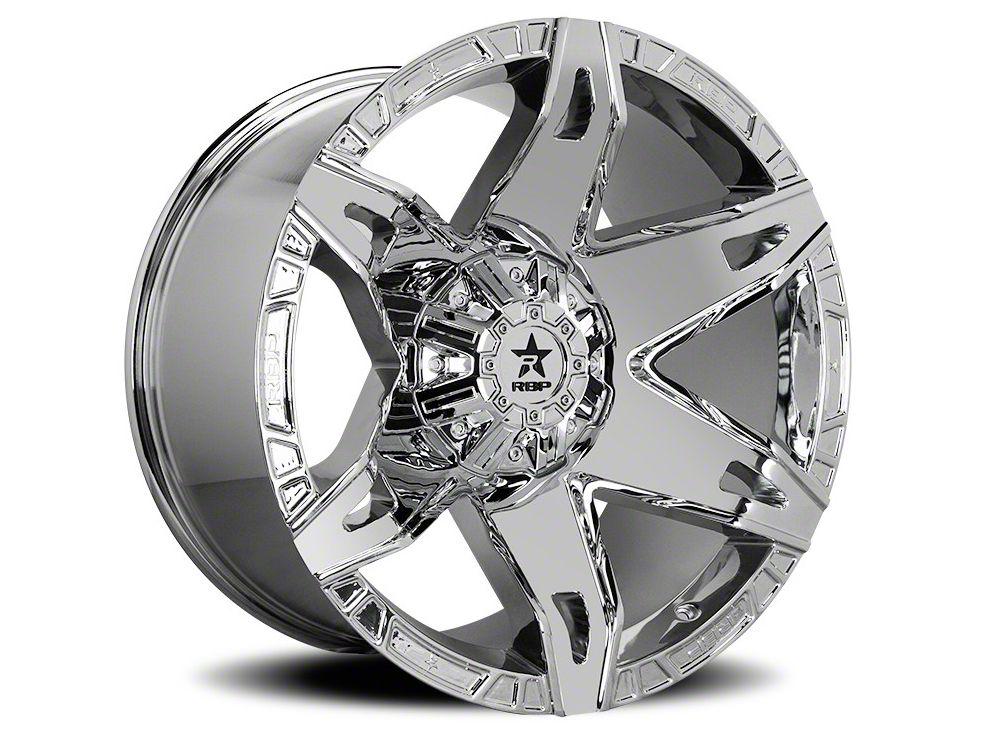 RBP 70R Quantum Chrome 6-Lug Wheel - 20x12 (04-19 F-150)