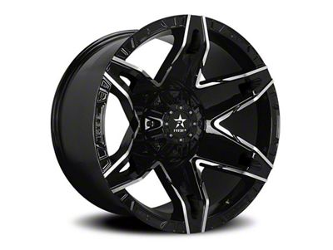 RBP 70R Quantum Gloss Black 6-Lug Wheel - 20x12 (04-19 F-150)