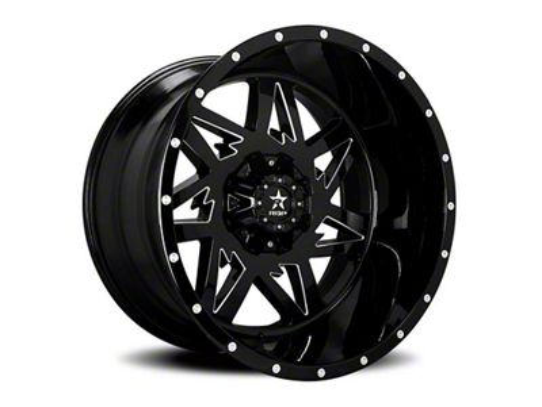 RBP 71R Avenger Gloss Black 6-Lug Wheel - 20x12 (04-19 F-150)