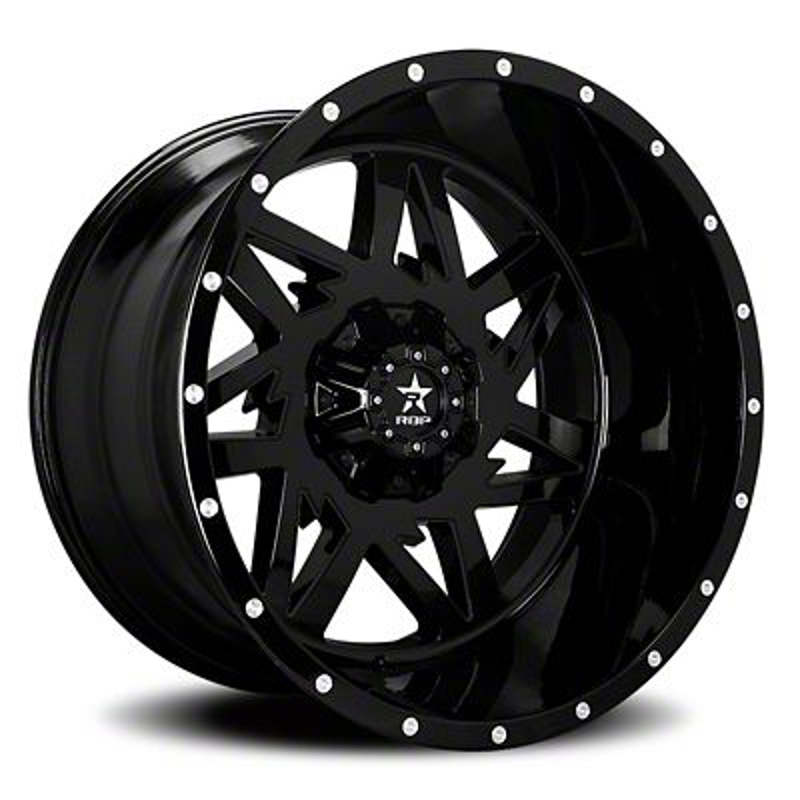 RBP 71R Avenger Gloss Black 6-Lug Wheel - 24x14 (04-19 F-150)