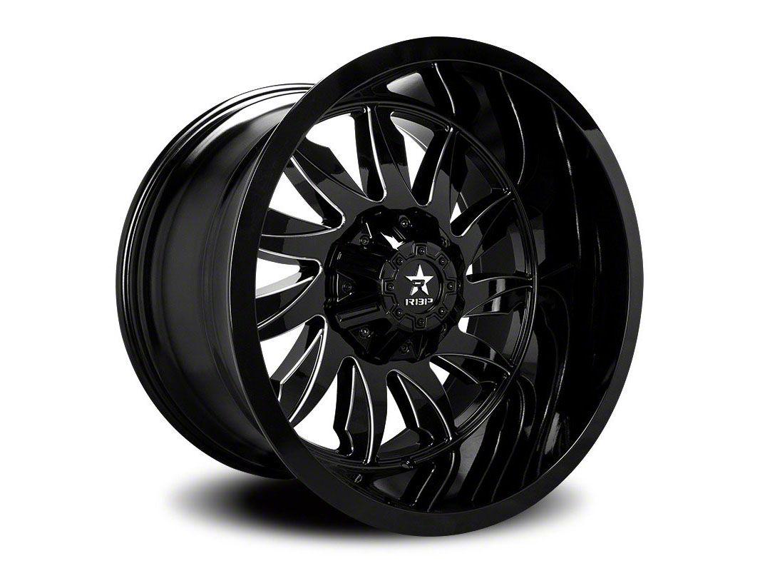 RBP 74R Silencer Gloss Black 6-Lug Wheel - 20x12 (04-19 F-150)