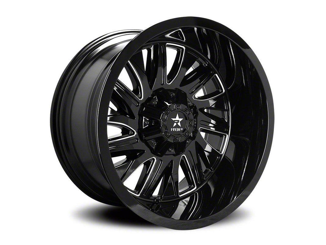 RBP 75R Batallion Gloss Black 6-Lug Wheel - 20x12 (04-19 F-150)
