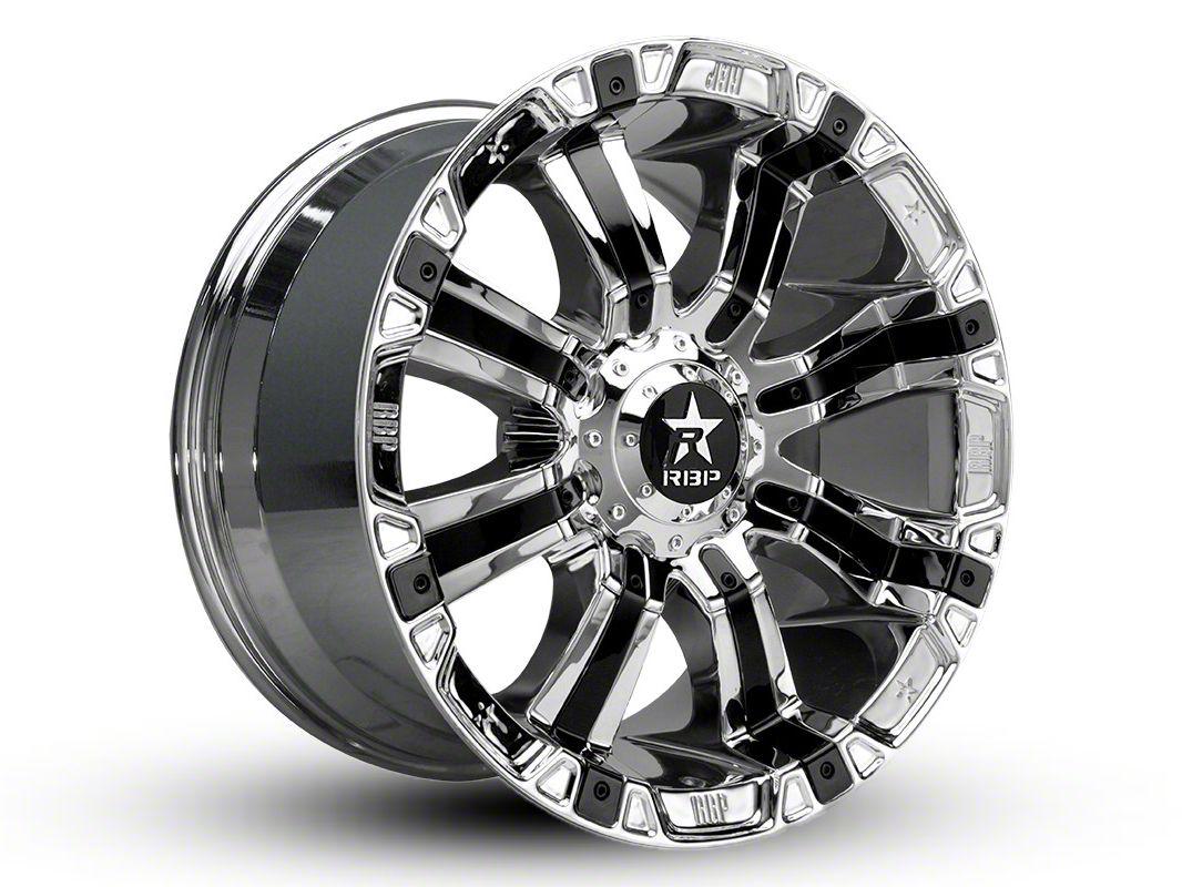 RBP 94R Chrome w/ Black Inserts 6-Lug Wheel - 22x12 (04-19 F-150)