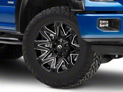 Fuel Wheels Ambush Gloss Black Milled 6-Lug Wheel - 20x10 (04-18 F-150)