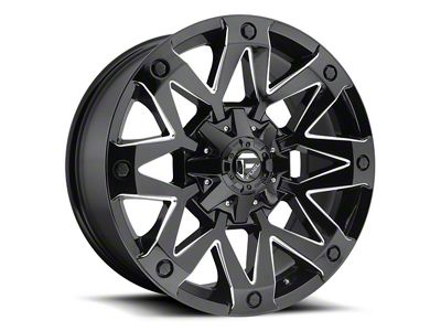 Fuel Wheels Ambush Gloss Black Milled 6-Lug Wheel - 17x9 (04-18 F-150)