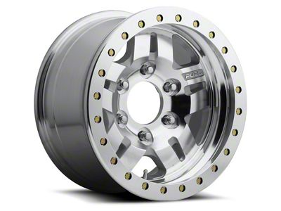 Fuel Wheels Anza Bead Lock Raw Machined 6-Lug Wheel - 17x9 (04-19 F-150)