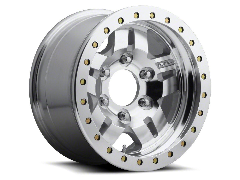 Fuel Wheels ANZA Bead Lock Raw Machined 6-Lug Wheel - 17x9 (04-18 F-150)