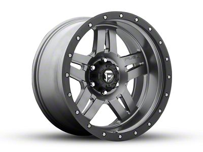 Fuel Wheels Anza Gun Metal 6-Lug Wheel - 20x10 (04-19 F-150)