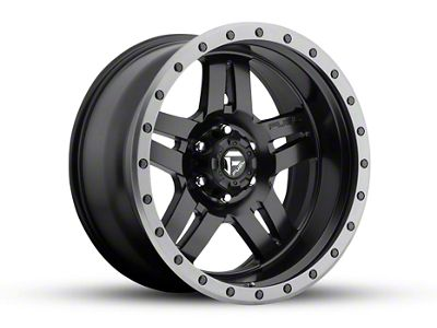 Fuel Wheels Anza Matte Black 6-Lug Wheel - 20x10 (04-19 F-150)