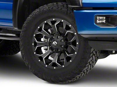 Fuel Wheels Assault Black Milled 6-Lug Wheel - 20x9 (04-19 F-150)