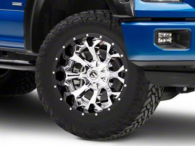 Fuel Wheels Assault Chrome 6-Lug Wheel - 20x10 (04-19 F-150)