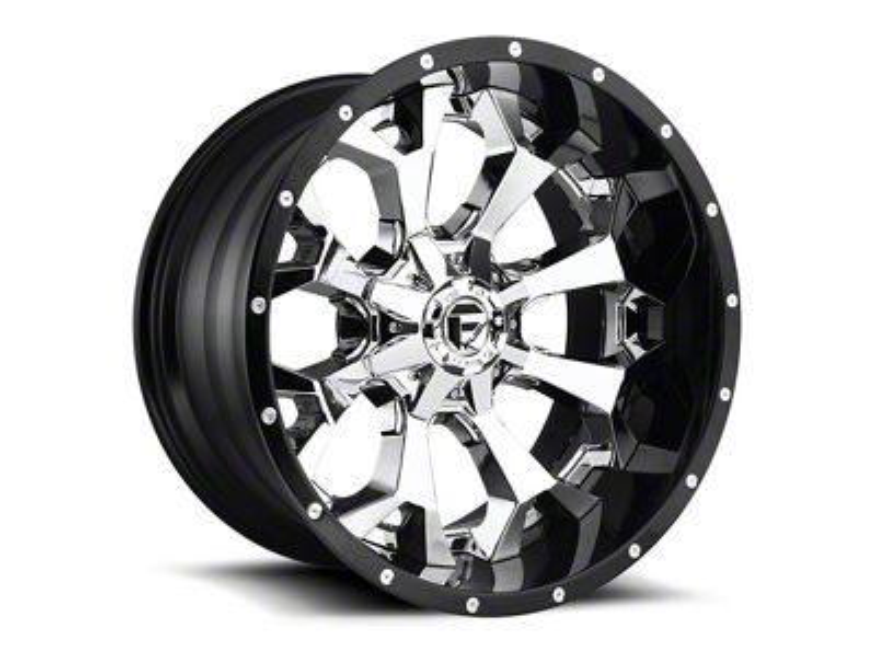 Fuel Wheels Assault Chrome 6-Lug Wheel - 22x14 (04-19 F-150)