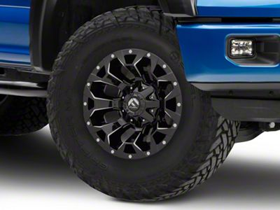 Fuel Wheels Assault Gloss Black Milled 6-Lug Wheel - 17x9 (04-19 F-150)