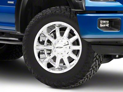 Pro Comp 10 Gauge Chrome 6-Lug Wheel - 20x9 (04-18 F-150)