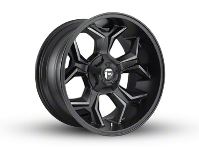 Fuel Wheels Avenger Black Machined w/ Dark Tint 6-Lug Wheel - 20x10 (04-19 F-150)