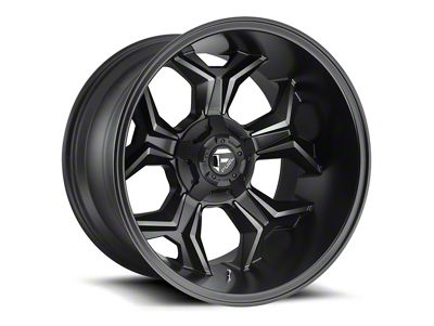Fuel Wheels Avenger Black Machined w/ Dark Tint 6-Lug Wheel - 20x12 (04-19 F-150)