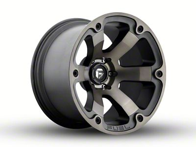 Fuel Wheels Beast Black Machined 6-Lug Wheel - 20x12 (04-18 F-150)