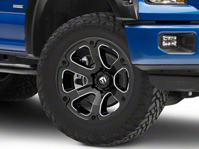 Fuel Wheels Beast Gloss Black Milled 6-Lug Wheel - 20x12 (04-18 F-150)