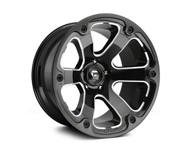 Fuel Wheels Beast Gloss Black Milled 6-Lug Wheel - 20x9 (04-19 F-150)