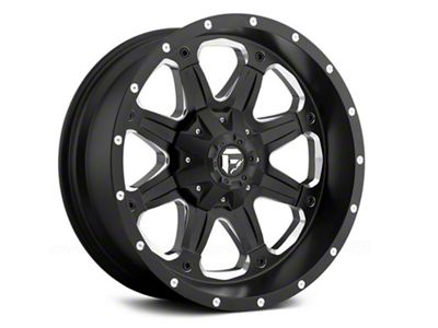 Fuel Wheels Boost Black Milled 6-Lug Wheel - 18x9 (04-18 F-150)