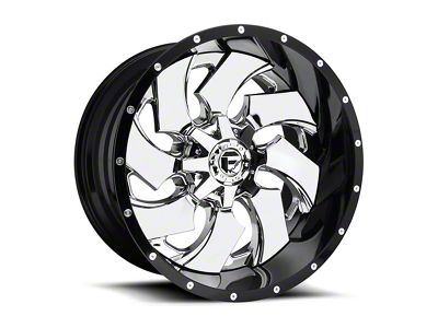 Fuel Wheels Cleaver 2-Piece Chrome 6-Lug Wheel - 20x12 (04-18 F-150)