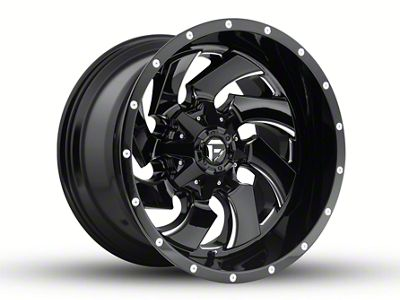 Fuel Wheels Cleaver Black Milled 6-Lug Wheel - 20x12 (04-18 F-150)