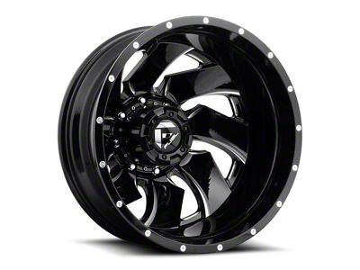 Fuel Wheels Cleaver Black Milled 6-Lug Wheel - 24x14 (04-19 F-150)