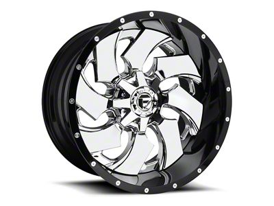Fuel Wheels Cleaver Chrome 6-Lug Wheel - 20x10 (04-18 F-150)