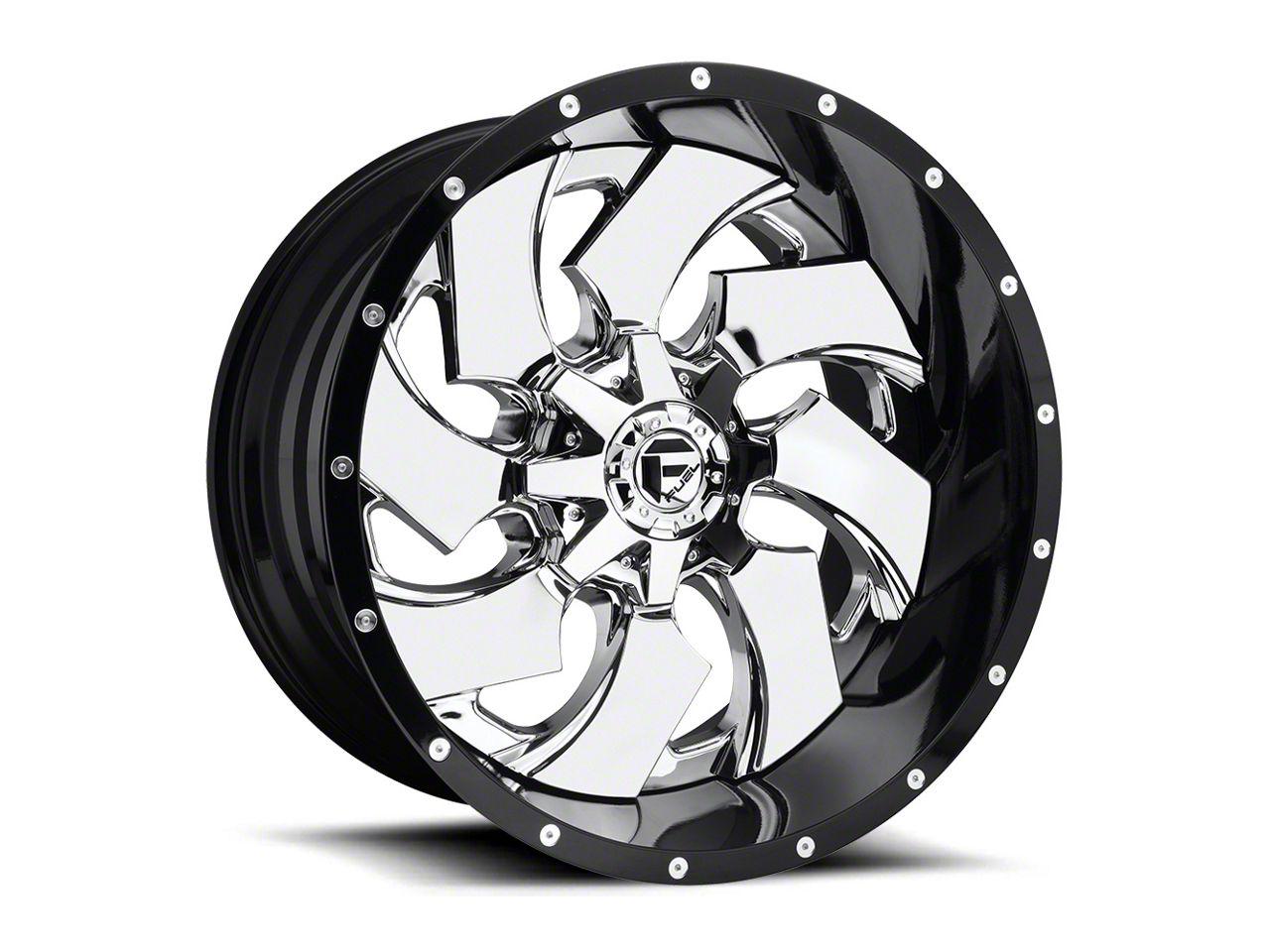 Fuel Wheels Cleaver Chrome 6-Lug Wheel - 24x16 (04-18 F-150)