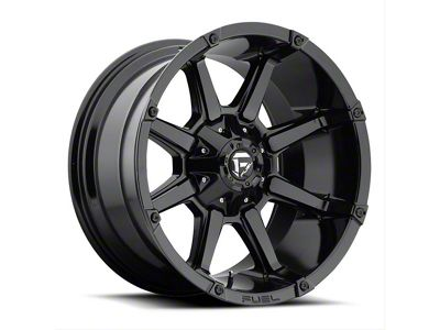 Fuel Wheels Coupler Gloss Black 6-Lug Wheel - 17x9 (04-19 F-150)