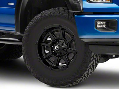 Fuel Wheels Coupler Gloss Black 6-Lug Wheel - 18x9 (04-18 F-150)