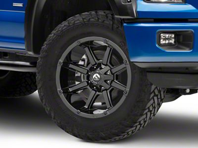 Fuel Wheels Coupler Gloss Black 6-Lug Wheel - 20x10 (04-18 F-150)