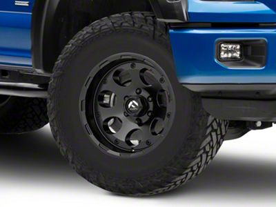 Fuel Wheels Enduro Matte Black 6-Lug Wheel - 17x9 (04-18 F-150)
