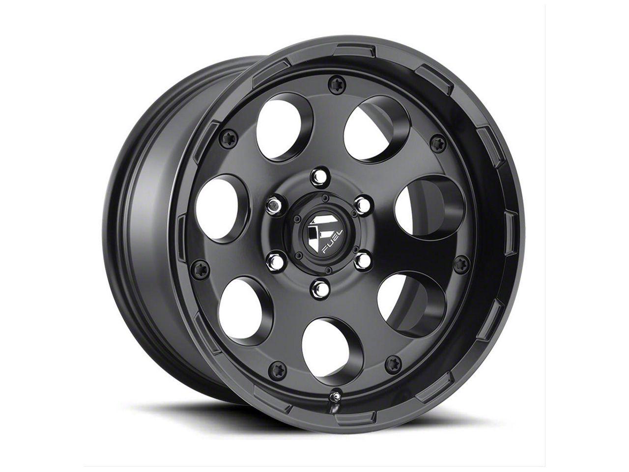 Fuel Wheels Enduro Matte Black 6-Lug Wheel - 20x9 (04-18 F-150)