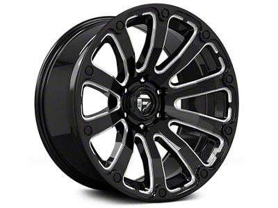 Fuel Wheels Diesel Gloss Black Milled 6-Lug Wheel - 17x9 (04-18 F-150)