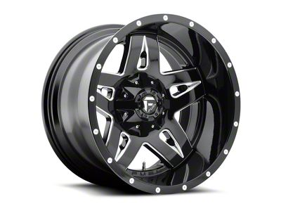 Fuel Wheels Full Blown Black Milled 6-Lug Wheel - 20x9 (04-18 F-150)
