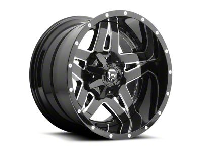 Fuel Wheels Full Blown Black Milled 6-Lug Wheel - 22x10 (04-19 F-150)
