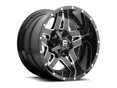 Fuel Wheels Full Blown Black Milled 6-Lug Wheel - 22x14 (04-18 F-150)