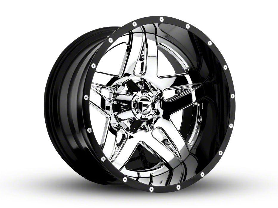 Fuel Wheels Full Blown Chrome 6-Lug Wheel - 22x14 (04-18 F-150)