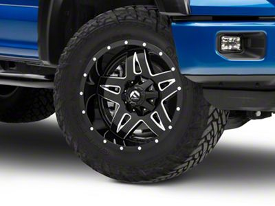 Fuel Wheels Full Blown Black Milled 6-Lug Wheel - 20x10 (04-18 F-150)
